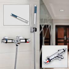 compare prices on shower single handle online shopping buy low contemporary bathroom shower faucet bathtub faucet mixer tap with hand shower single handle sumptuous set wall