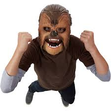 raptor mask halloween star wars the force awakens chewbacca electronic mask walmart com