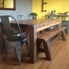 farm table with bench concepts created farmhouse tables standard farmhouse tables
