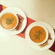 barefoot contessa roasted tomato basil soup blueberries u0026 basil