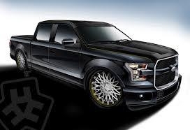 750 hp hulst customs special among ford u0027s f 150 sema fleet