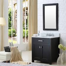 Vanity And Mirror Water Creation 30e Single Sink Bathroom Vanity From The Madison