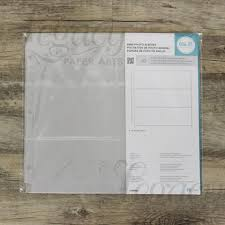 scrapbook page protectors 8 x 8 album 3 ring classic leather scrapbook by we r memory