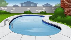 Backyard Clip Art Pool Clipart Kidney Shape Pencil And In Color Pool Clipart