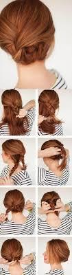 Hochsteckfrisurenen Mittellange Haare Selbstgemacht by 1001 Ideen Wie Sie Effektvolle Hochsteckfrisuren Selber Machen