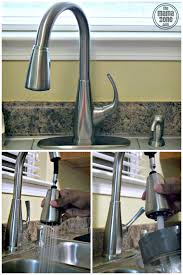 pfister kitchen faucet reviews pfister selia kitchen faucet review the zone