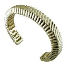 cuff bracelet tiffany images Estate vintage tiffany co 18k yellow gold cuff bracelet 1998 jpg