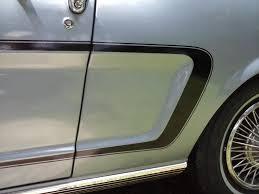 1964 Black Mustang Ford Mustang 1964 66 Custom C Stripe Kit