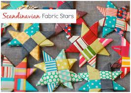 tutorial scandinavian fabric stars thequiltshow com christmas