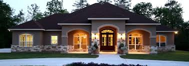 exterior features m daigle custom homes