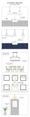 Best  Dining Table Lighting Ideas On Pinterest Dining - Height of dining room light from table