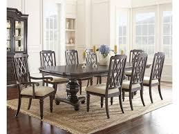 steve silver vivaldi dining table 4 side chairs u0026 2 arm chairs