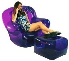 blow up chairs foter