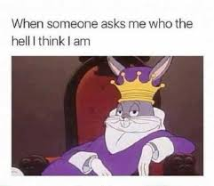 dopl3r com memes when someone asks me who the hell i think i am