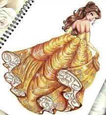 best 25 belle drawing ideas on pinterest disney princess