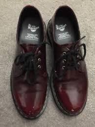 womens vegan boots uk dr doc martens us size 8 uk 6 1461 cherry 3 eye vegan