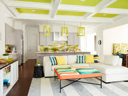 home decorating ideas from a colorful kitchen and living space hgtv