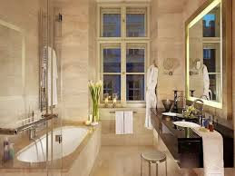 Beige Bathroom Ideas by Charming Scandinavian Bathroom Ideas With Beige Wall Tiles And