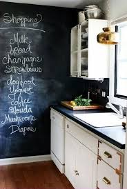 kitchen adding the fashionable decorative chalkboard for home