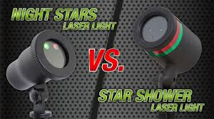 night stars laser landscape lighting star shower vs laser light night stars landscaping light youtube