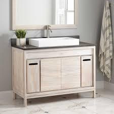 Vessel Sink Vanities Without Sink Sweet Design Whitewash Bathroom Vanity 60 Caldwell Teak Double