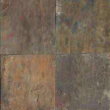 12x12 slate tile tile the home depot
