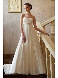 chiffon wedding dress sweetheart court ivory chiffon wedding dress maternity