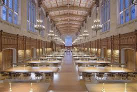 landmark law library reading room at university of michigan