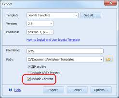 how to use joomla templates