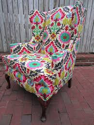 Accent Wingback Chairs A Leather Chair Will Diane Used This Big Bold Abstract Painting