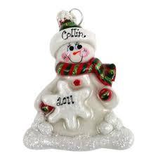 snowman ornaments ornamentsforkeeps