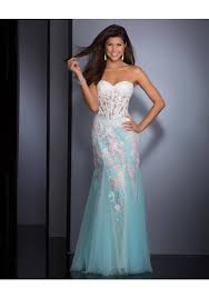 out white sweetheart floor length trumpet mermaid zipper prom
