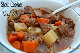 slow cooker back to basics beef stew cozycakes cottage