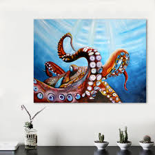 online get cheap octopus painting aliexpress com alibaba group