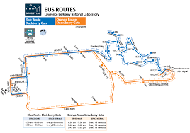 lbl map laboratory shuttle routes combined routes