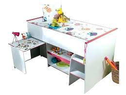 lit enfant mezzanine avec bureau lit e etage avec bureau mezzanine lit mezzanine avec bureau et