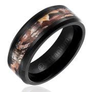 mens camo wedding rings camo wedding rings