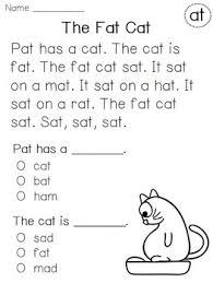 reading for kindergarten worksheets worksheets