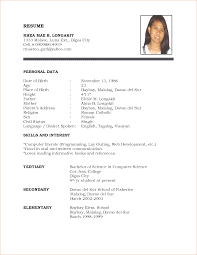 Preschool Teacher Resume Examples by Resume Sample For Working Student Augustais