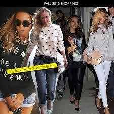 fall 2013 shopping affordable sweatshirts fashion bomb daily