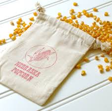 popcorn favor bags popcorn wedding favor bags set of 100 cotton muslin
