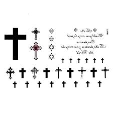 free cross tattoos designs for