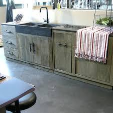 meuble de cuisine en bois porte de cuisine en bois brut meuble cuisine indacpendant bois porte