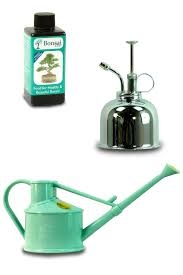 bonsai watering set which includes a watering can mister u0026 bonsai
