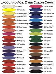 jacquard acid dye color mixing chart yahoo image search results