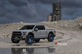 Ford Raptor Rims - gen 2 2017 avalanche grey ford raptor on velos s6 forged wheels