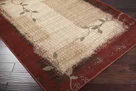 Closeout Area Rugs Surya Paramount Par 1031 Red Tan Closeout Area Rug Fall 2015