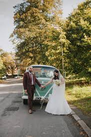 a juliet cap veil and red lipstick for a quirky vintage wedding in