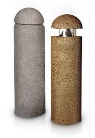 concrete bollard lighting fixtures illuminated precast concrete lighted bollards belson outdoors
