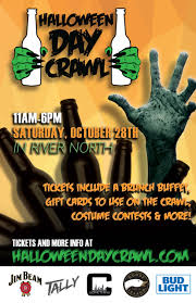 halloween day crawl sat oct 28th in river north chicago